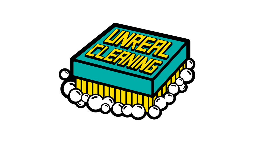 Unreal Cleaning  Copyright © Afro Boy Productions. All rights reserved. ·  Illustrator