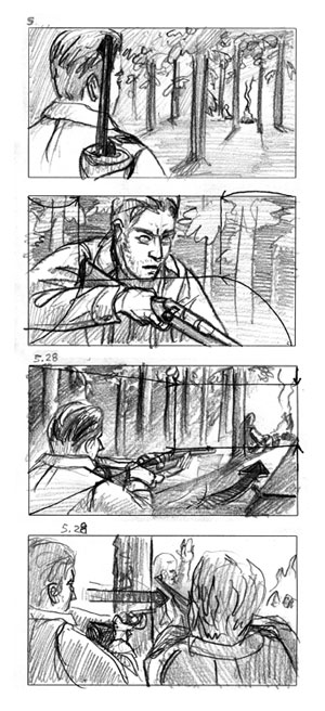 Storyboard/Commercial — Nick Goettling/Artwork