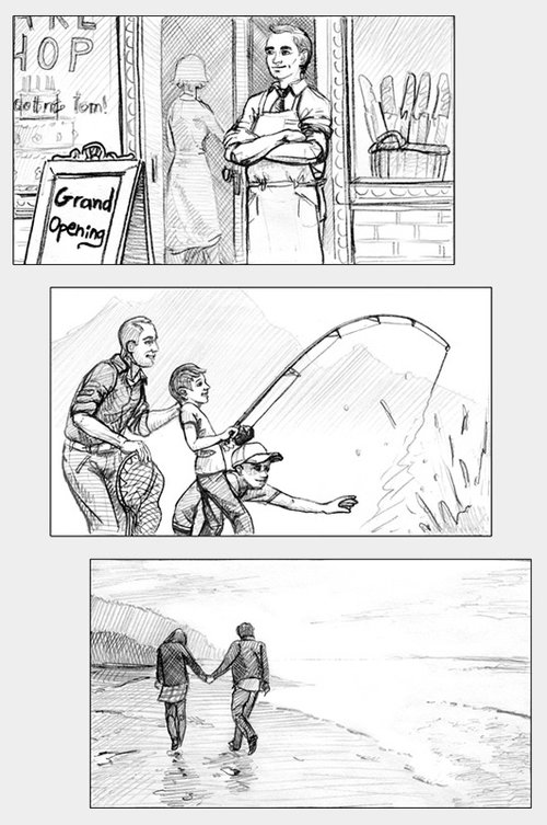 StoryboardCommercial  Nick GoettlingArtwork