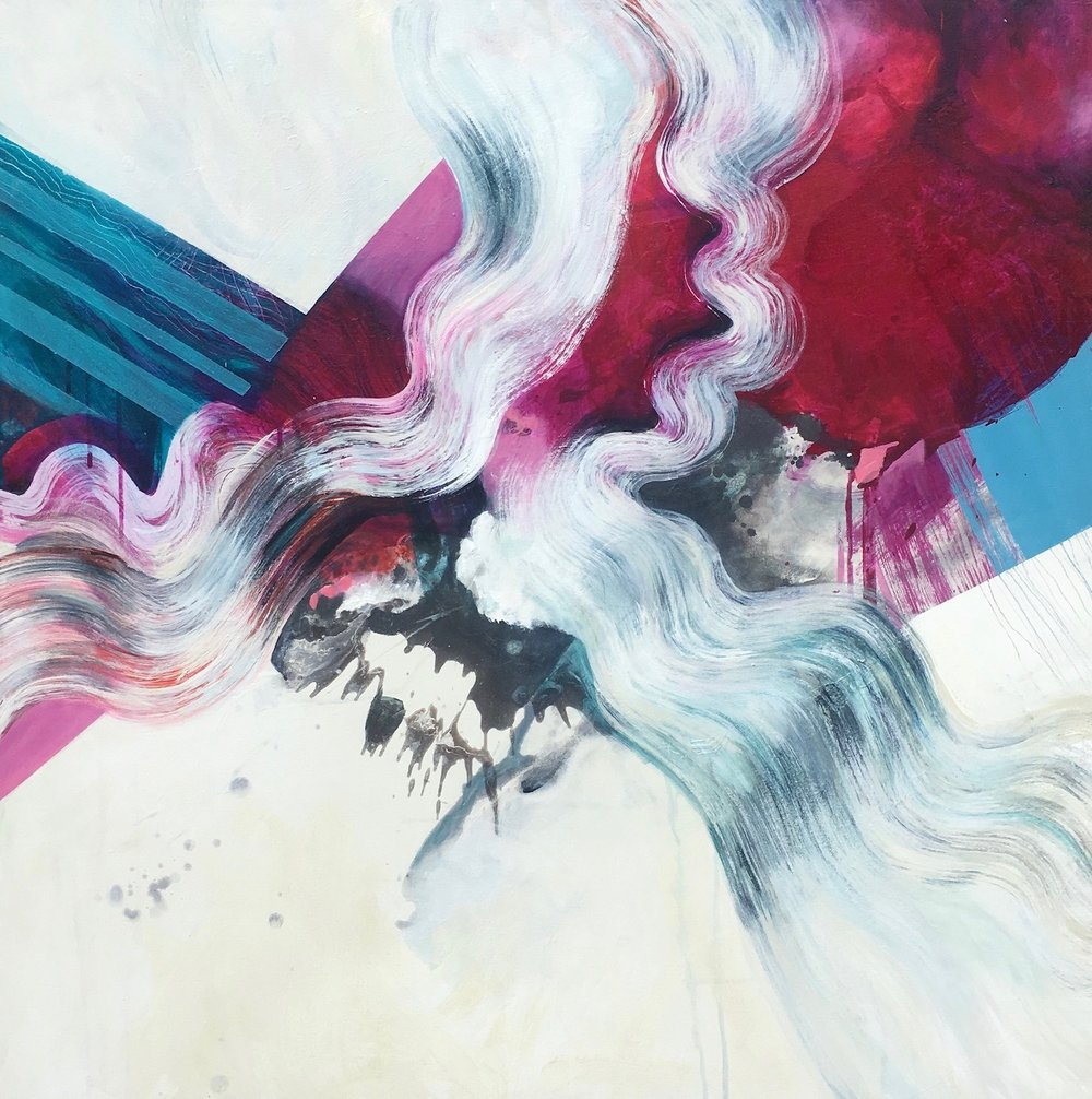 """sound and colour, 36"""" x 36"""""""
