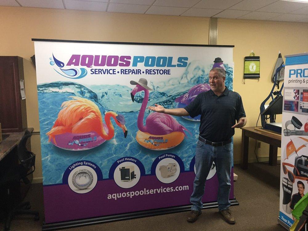 Aquos Pools Banner