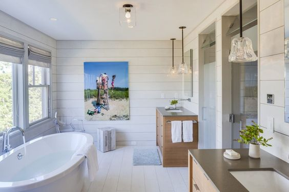 Osprey Marsh:  Bathroom
