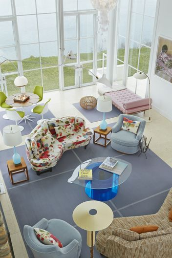 Shelter Island Beach House:  Living Room
