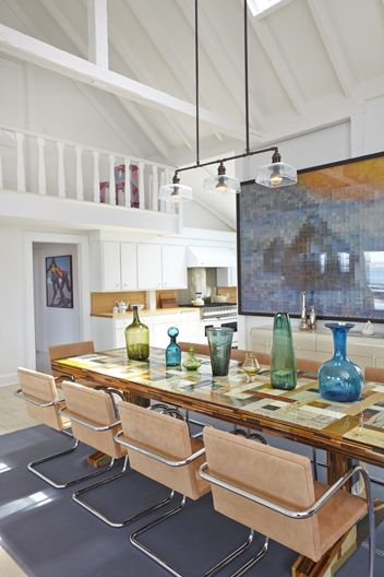Shelter Island Beach House:  Dining Room, View 2