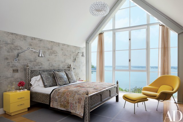 Shelter Island Beach House:  Master Bedroom