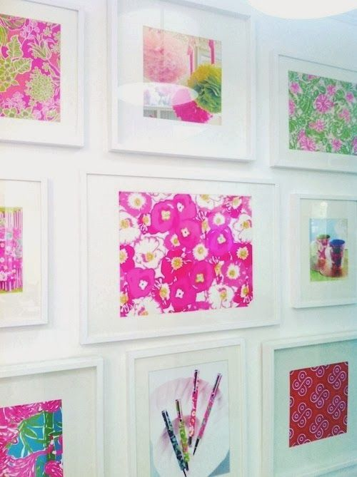 Hot Pink:  Statement Wall