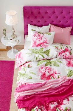 Hot Pink:  Bedroom