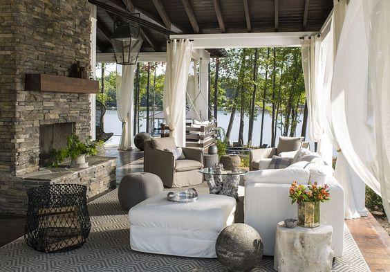 A lakeside getaway in North Carolina's Lake Gaston