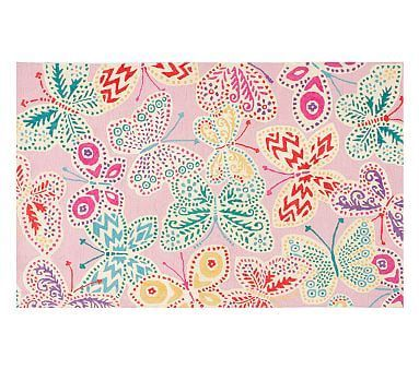 Lillie Butterfly Rug