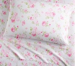 Organic Sadie Floral Bouquet Sheets