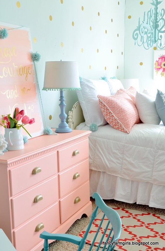 Polka-Dot Bedrooms