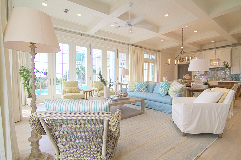 Beach Pretty House Tours: In Love with this Amazing Beach House in ...