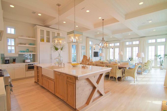 Beach Pretty Kitchen