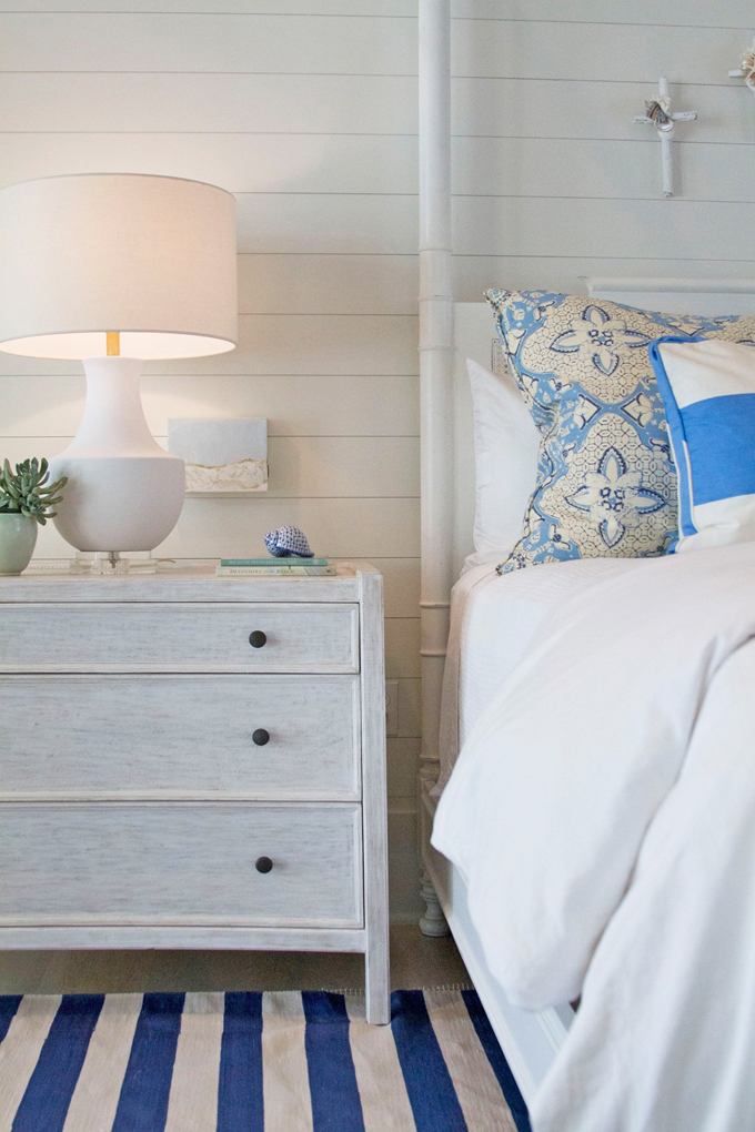 beach house nautical blue and white bedroom.jpg
