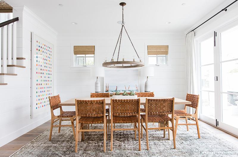 House Tour:  Coastal Dining Room
