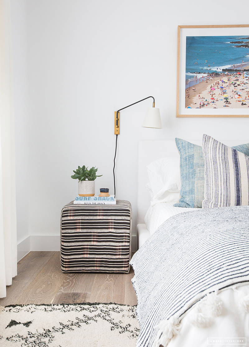 Beach Pretty House Tours:   This California Style Eclectic Beach House is designed by Amber Designs
