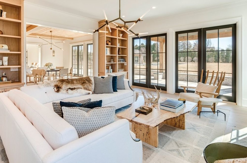Beach Pretty House Tours:  Family Room