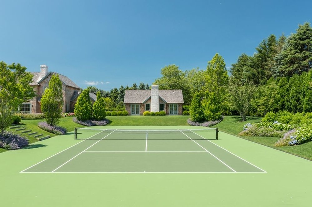 Beach Pretty House Tours:  Tennis Courts
