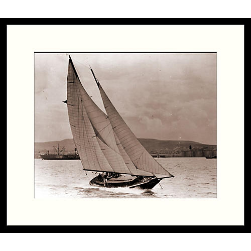 Vintage Sailboats 1