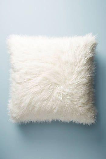 Shag Puff Floor Pillow