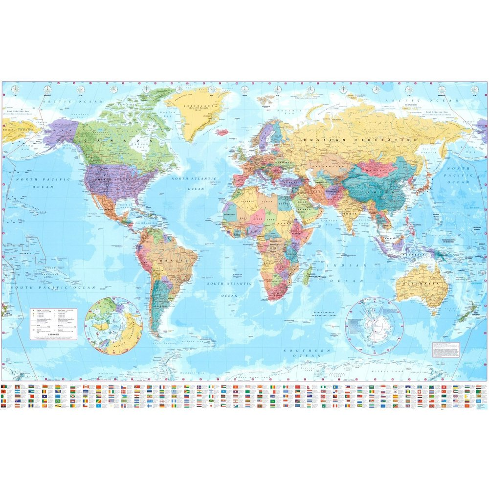 Art.com - World Map Collection