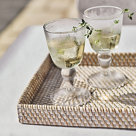 8. - We believe every beautiful piece should be functional and, where possible, multi functional too. So we love this wine glass, which is suitably rustic and weighty to use as everyday juice or water glass too. Shop