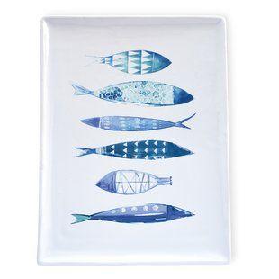 Brooker Ceramic Fish Plate