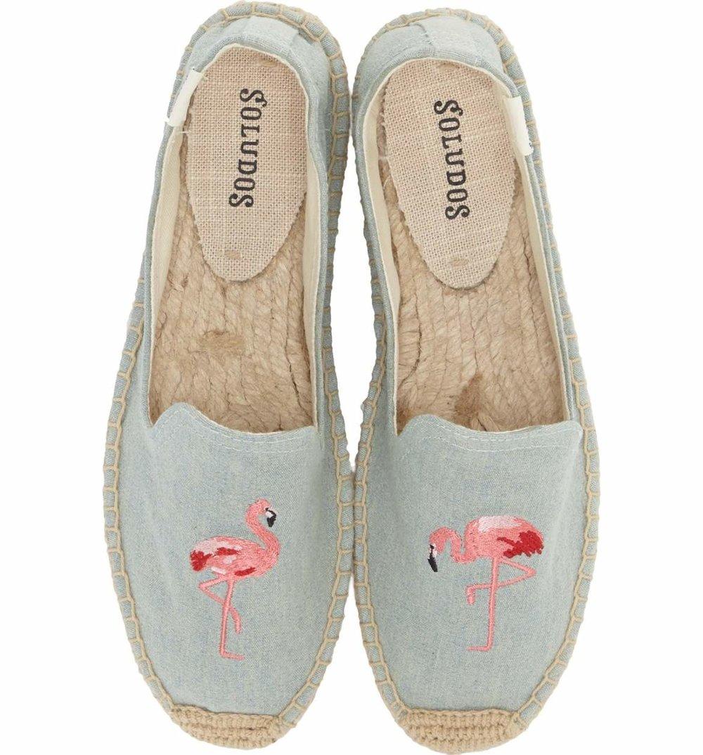 Flamingo Espadrilles. .Shop