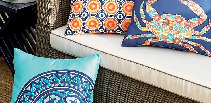 Savannah Outdoor Pillows