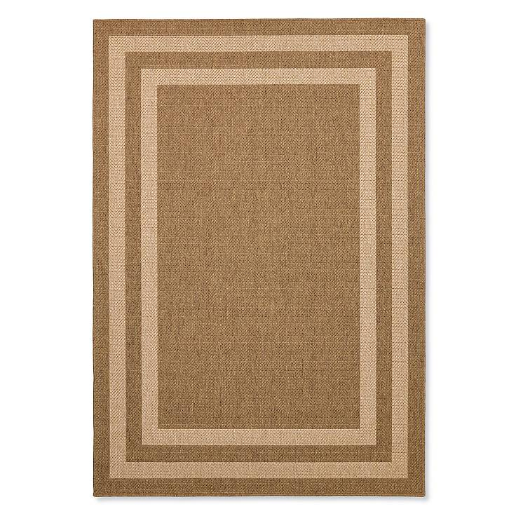 Quinn Border Outdoor Rug