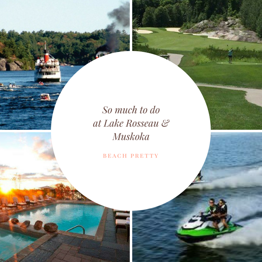 1.  Scenic Tours  2.  The Rock Golf Course  3.  Muskoka Watersports and Recreation  4.  Spa Rosseau