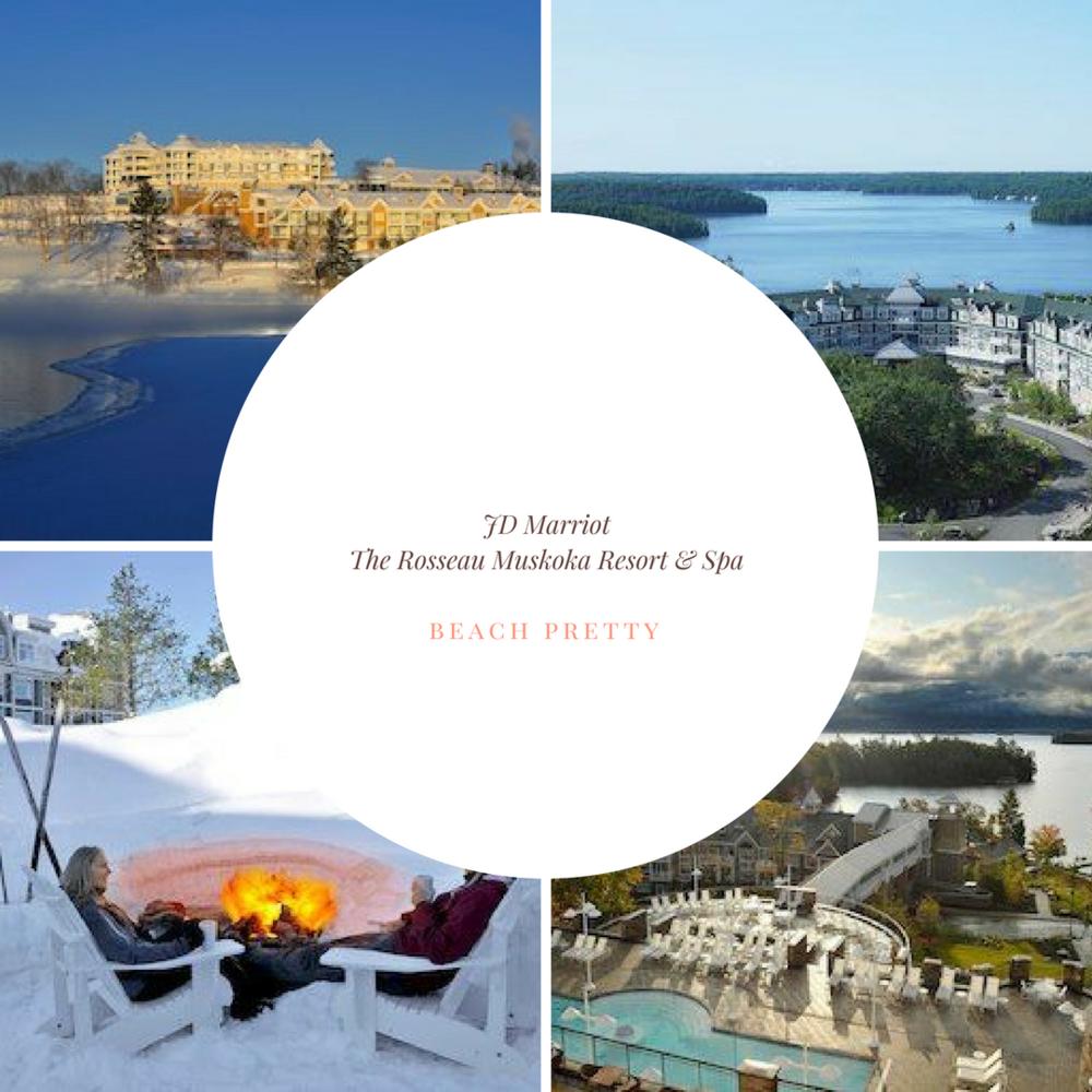 Conde Nast Traveler readers rank JW Marriott The Rosseau Muskoka #7 of the Top 20 Resorts in Canada.  See JD Marriot