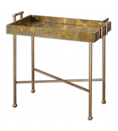 Binah Tray Table, Copper