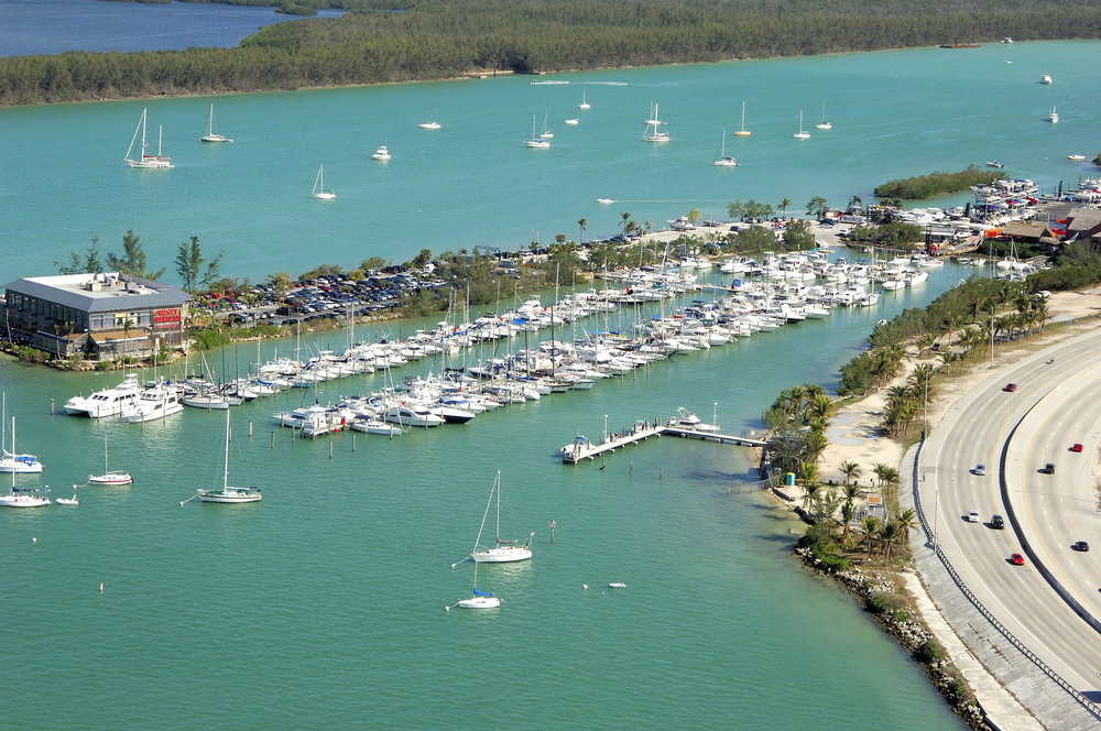 Rickenbacker Marina on Key Biscayne