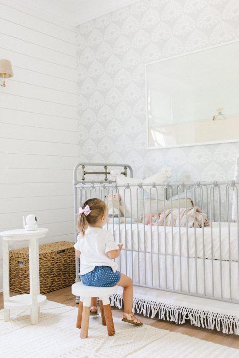 Beach Pretty House Style-Creating Designer worthy Nurserys with Colorful Wallpaper 18.jpg