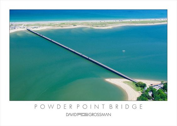 Our bridge to a seven-mile beach, which is private an only accessible if you live in Duxbury.