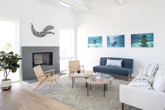 White Couch|The Hamptons