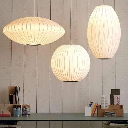 White Bubble Pendant Lamps