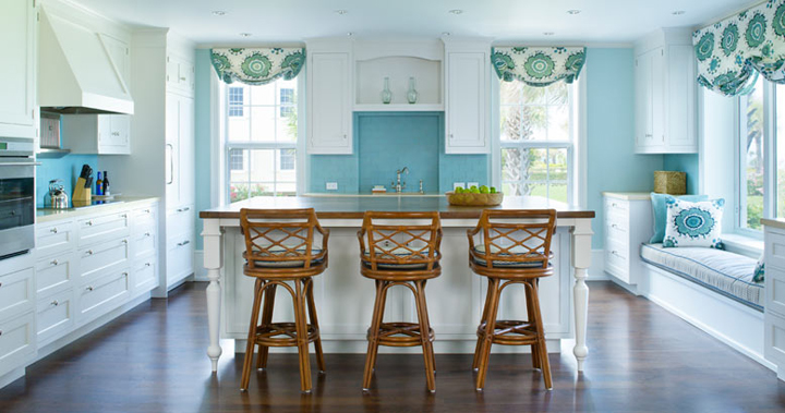 Kitchen Inspiration-Obsessing Over Beautiful Pops of Color in These Beautiful Kitchens 41.jpg