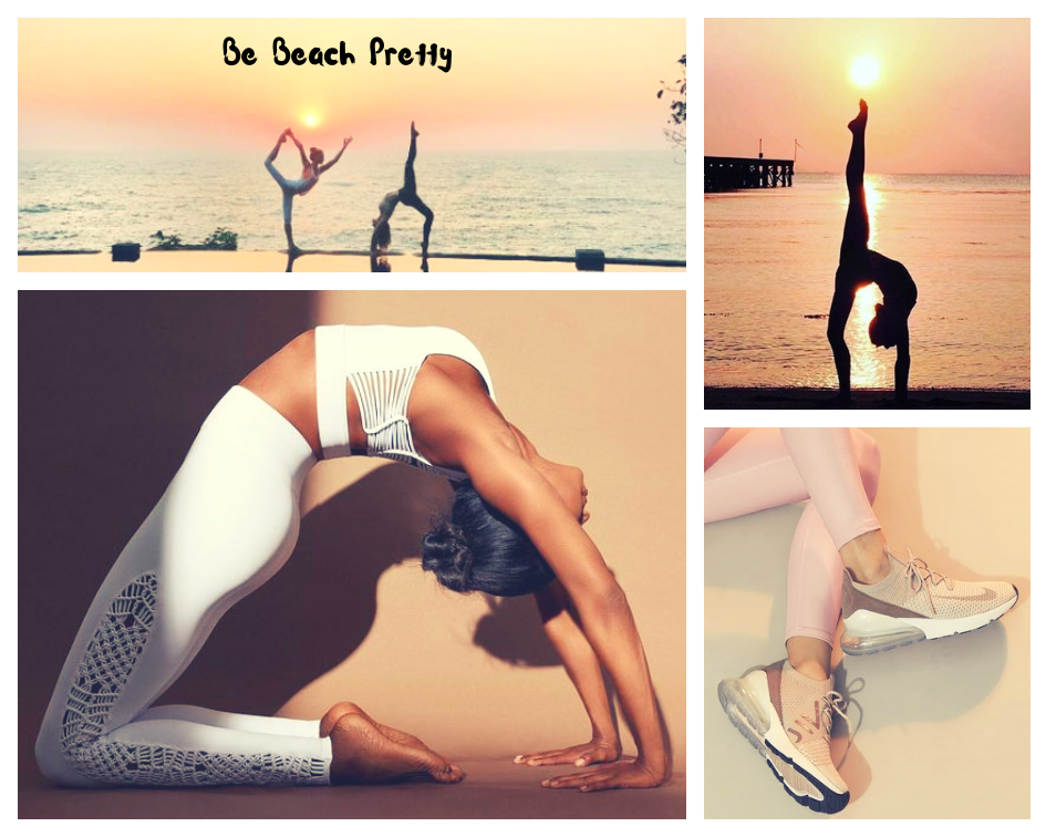 Nike Sneakers |  White Yoga Outfit