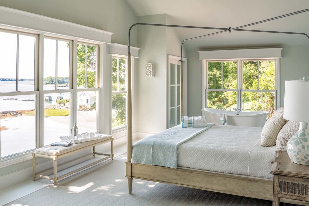 Sweet view in this Master Bedroom Suite.