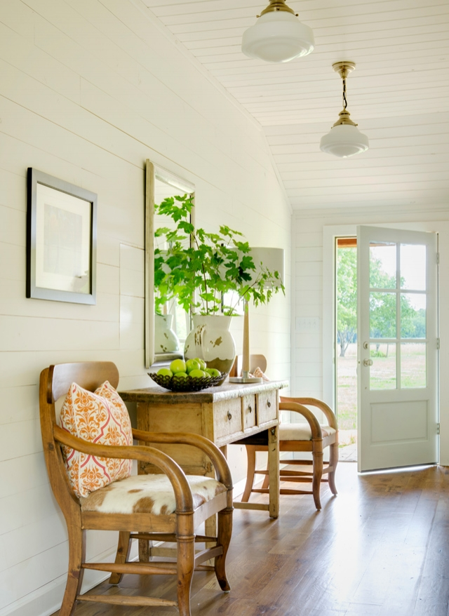 This Entry Way is Amazing..I love the Natural Wooden Console Table, . Interior Design Tip…Always Balance an Area in A Room.