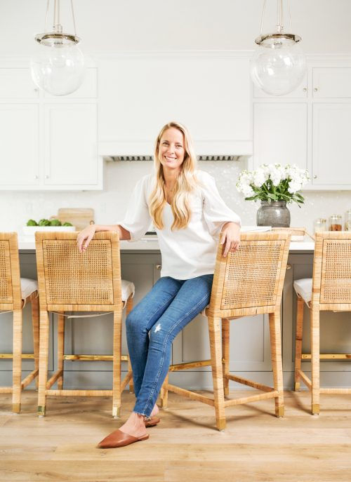 """meet Bex - Becky (""""Bex"""") Fuller is a Carlsbad native and the interior designer behind this California-based passion project, Bex Studios. The coast and it's laid back surf culture influence Becky's natural vision for restful, balanced, and beautifully functional spaces that reflect her clients' lifestyles and pastimes. Sunshine fuels her, family dinners are often picnic-style by the ocean, and her hope is to leave your homes and offices as long lasting respites."""