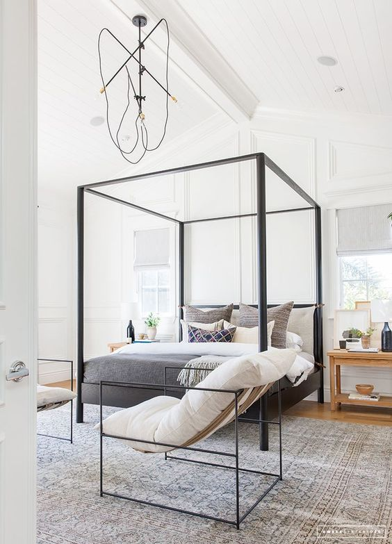 I am a big fan of  Amber Interiors , I mean who isn't? This bedroom has the coastal California vibe with a hint of modern boho. I think I might be late for work a lot, if I lived here…too cozy.