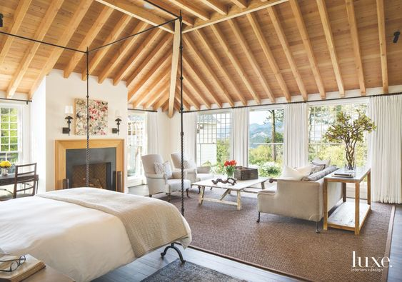 A Victorian Revival in Napa. A luxe suite that is incredibly gorgeous.. via