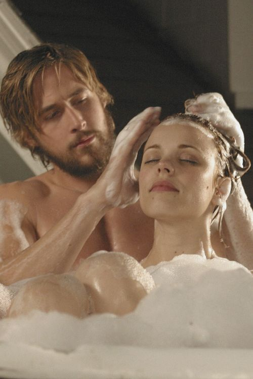 """The movie the """"Notebook"""", has to be the most romantic movie of all times…we all want to have this type of love…""""love goals"""". Noah played by actor Ryan Gosling and Ali played by actor Rachel McAdams. A little trivia on Ryan and Rachel were born in the same hospital in London, Ontario."""