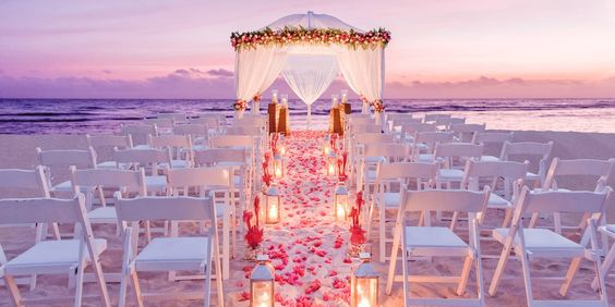 What a beautiful resort for a destination wedding, the  Half Moon Resort  in Jamaica.