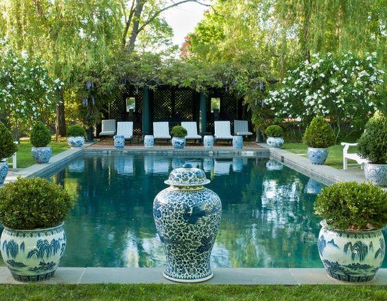 Carolyne Roehm's Gorgeous Gardens  via