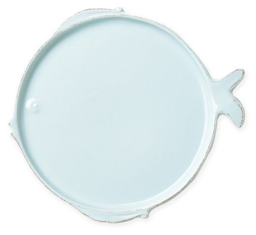 Melamine Fish Dinner Plate