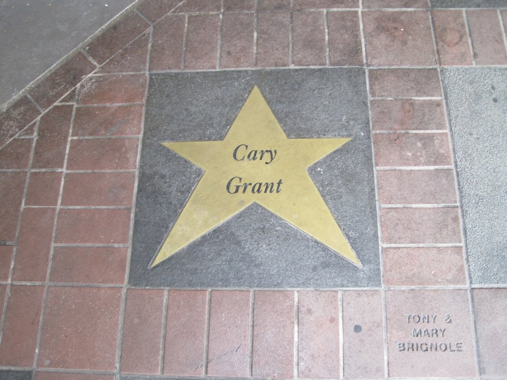 "Note the inlaid ""stars"" around The Orpheum, tributes to some of the celebrities that have performed here."